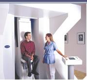 Now the most comfortable MRI procedure is available, introducing the stand-up MRI.